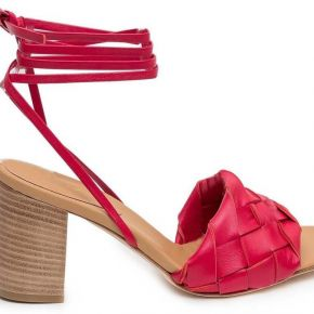 Anna f., sandals rouge, femme, taille: 37