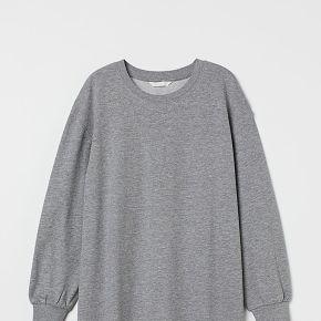H & m - mama robe en molleton - gris