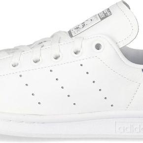 Tennis adidas stan smith femme blanche et bleue