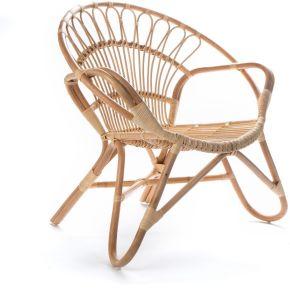 Milo - fauteuil vintage en rotin - couleur -...