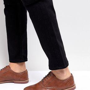 Homme asos - chaussures richelieu en similicuir...