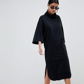 Femme asos design - robe fluide mi-longue à col...