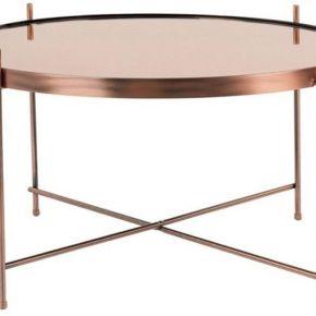 Cupid - table basse design ronde large -...
