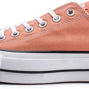 Converse femme chuck taylor all star lift rose...