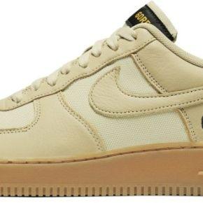 Chaussure nike air force 1 gore-tex - or
