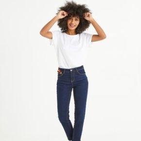 Jean droit femme gaston jean rinse - promod