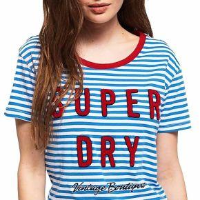 T-shirt superdry payton blue pour femmes