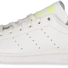 Tennis adidas stan smith femme blanche et jaune...