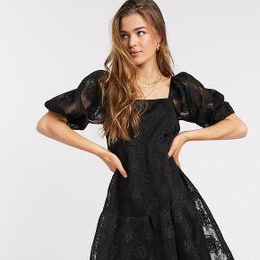 Asos design tall - robe babydoll mi-longue en...