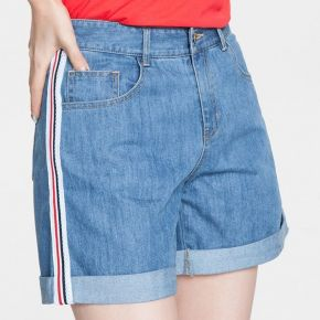 Short jeans - short femme taille casual fxg-fz4034