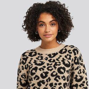 Na-kd animal knitted leo sweater -...