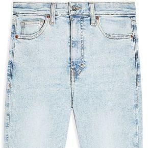 Super bleach jagged hem jamie jeans pantalon en...