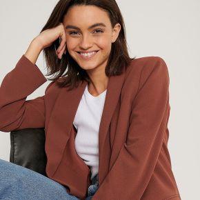 Na-kd classic blazer classique - brown