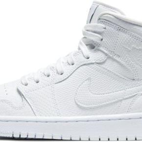 Chaussure air jordan 1 mid pour femme - blanc