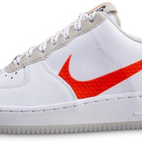 Nike homme air force 1'07 lv8 blanc orange baskets