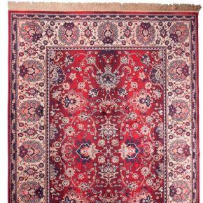 Old bid - tapis de salon persan rouge -...