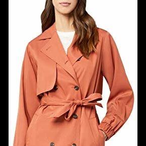 Find. y4183 trench coat, marron (rust), 36...