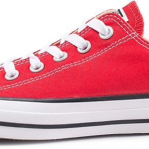 Converse femme chuck taylor all star low rouge...