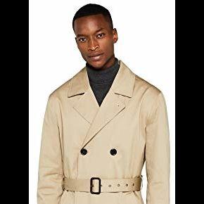 Find. trench coat, manteau homme, marron...
