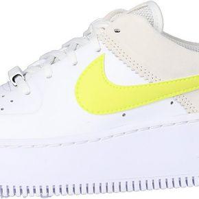 Nike femme air force 1 sage low blanche et...