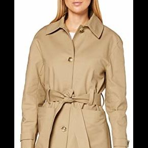 Find. trench-coat à ceinture femme, beige...