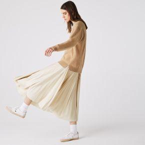 Lacoste jupe plissée à ceinture élastiquée...