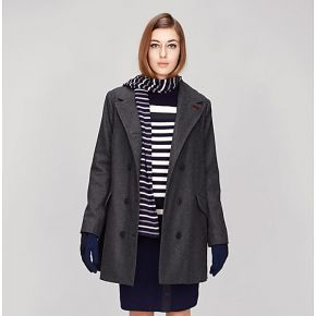 Manteau à double boutonnage