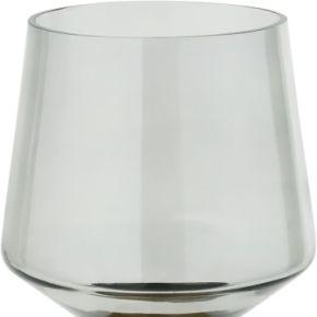 Rigel, lanterne en verre avec base en métal,...