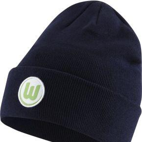 Bonnet de football vfl wolfsburg - bleu