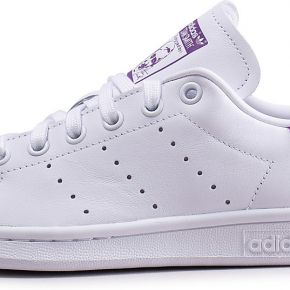 Baskets adidas stan smith blanche et violette...