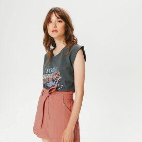 Short taille haute femme - rose - 36 - promod -...