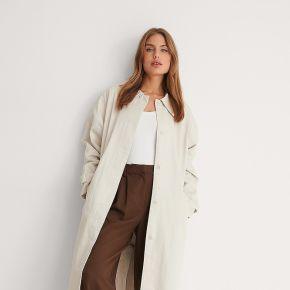Na-kd trend manteau ceinturé - beige