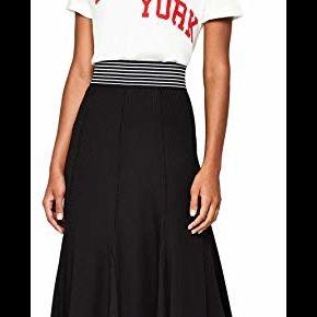 Find. jupe mi-longue plissée en jersey femme,...