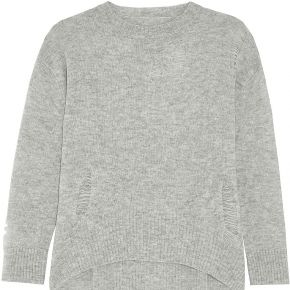 Pullover enza costa femme. gris clair. m...