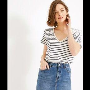 Jupe en jean femme jean moyen - promod