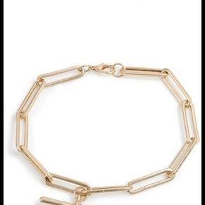 Bracelet chaîne en métal doré