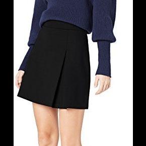 Find. trim mini jupe femme, noir (schwarz), 40...
