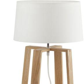 Lampe de table bliss blanche - faro barcelona