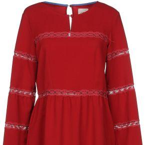 Robe courte ..,merci femme. rouge. 38 livraison...
