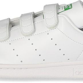 Adidas stan smith femme à scratch blanche et...