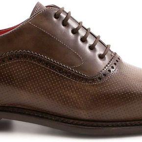 Leonardo shoes homme 5211talpa marron cuir...