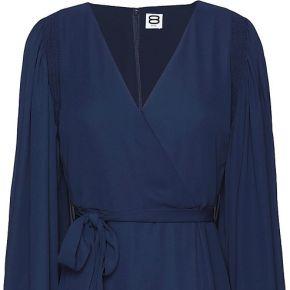 Robe aux genoux 8 by yoox femme. bleu foncé. 34...