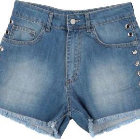 Short en jean happiness femme. bleu. m...
