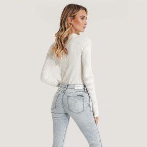 Calvin klein jean taille mi-haute - blue