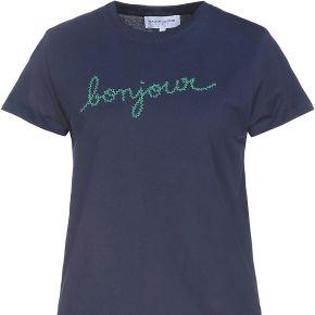 T-shirt maison labiche femme. bleu foncé. s...