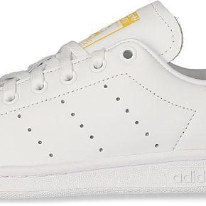 Tennis adidas stan smith femme blanche et jaune