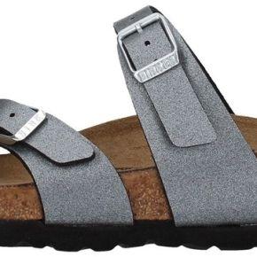 Birkenstock, 1016006 flip flops gris, femme,...