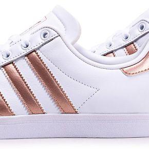 Adidas coast star blanc bronze femme baskets