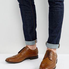 Homme asos design - chaussures richelieu en...
