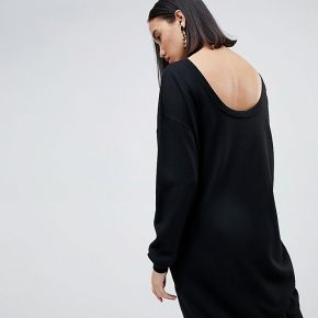 Femme asos design - robe pull avec dos dégagé...